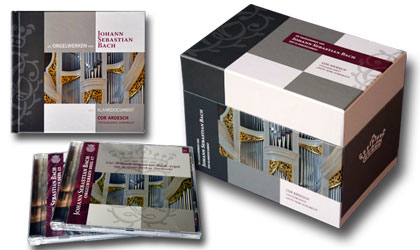 Bach 18 cd series with book and box - Sunray design